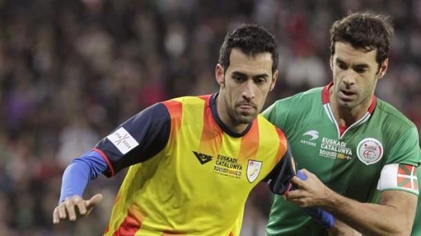 Nelle nazionali di calcio catalane non ufficiali gioca anche Busquets