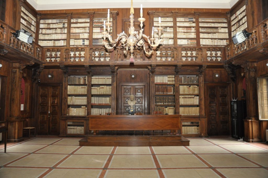 interno-biblioteca capitolare
