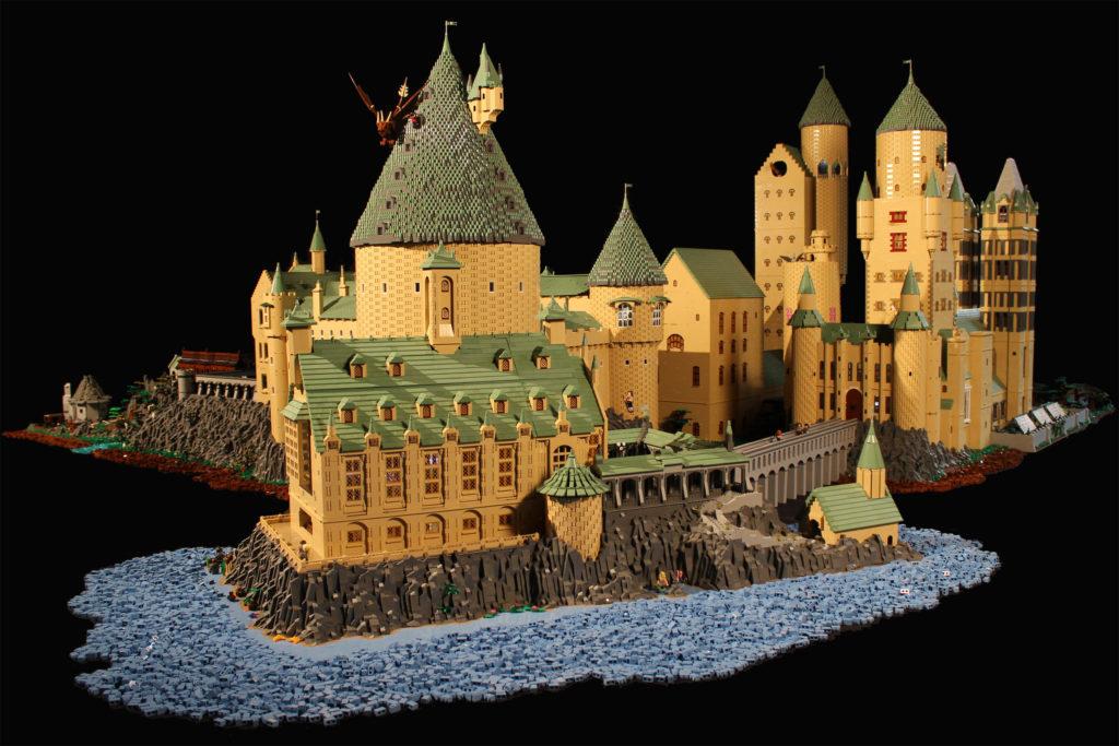 parchi castello Hogwarts Lego