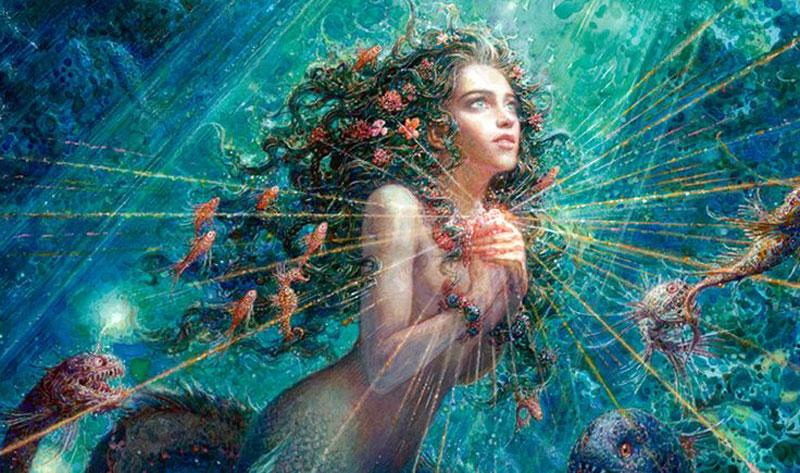 Illustrazione de La sirenetta di Lomaev Anton