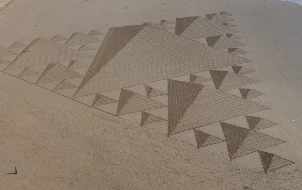 neve Simon Beck sabbia