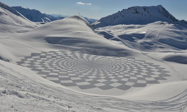 Snow artist - Simon Beck