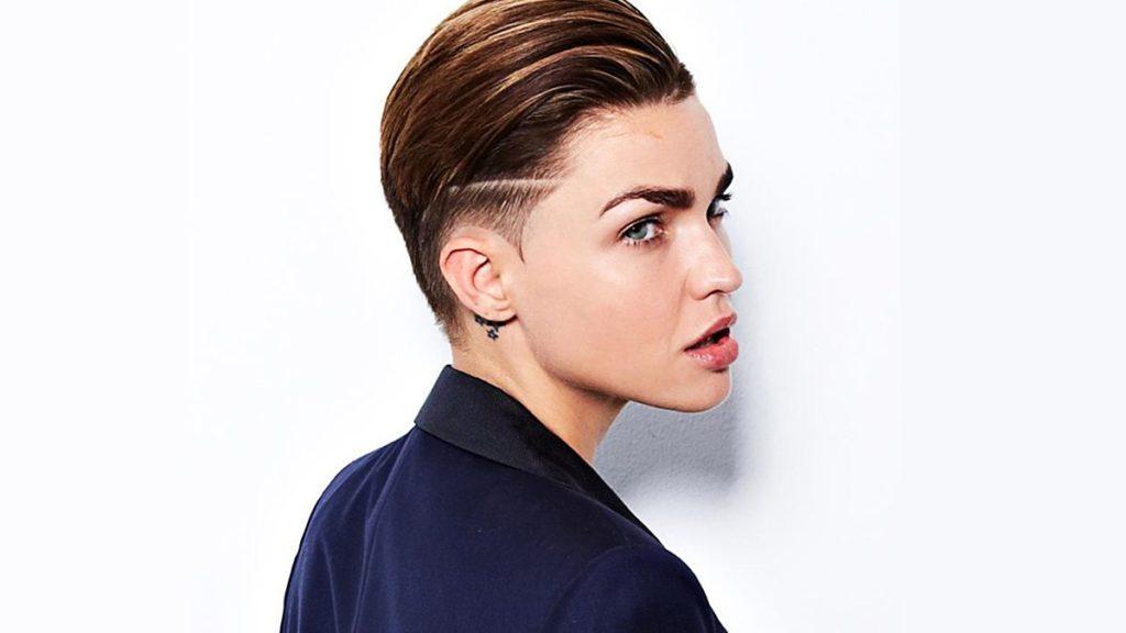 Disforia di genere - La foto ritrae Ruby Rose, modella, attrice e disk jockey australiana.