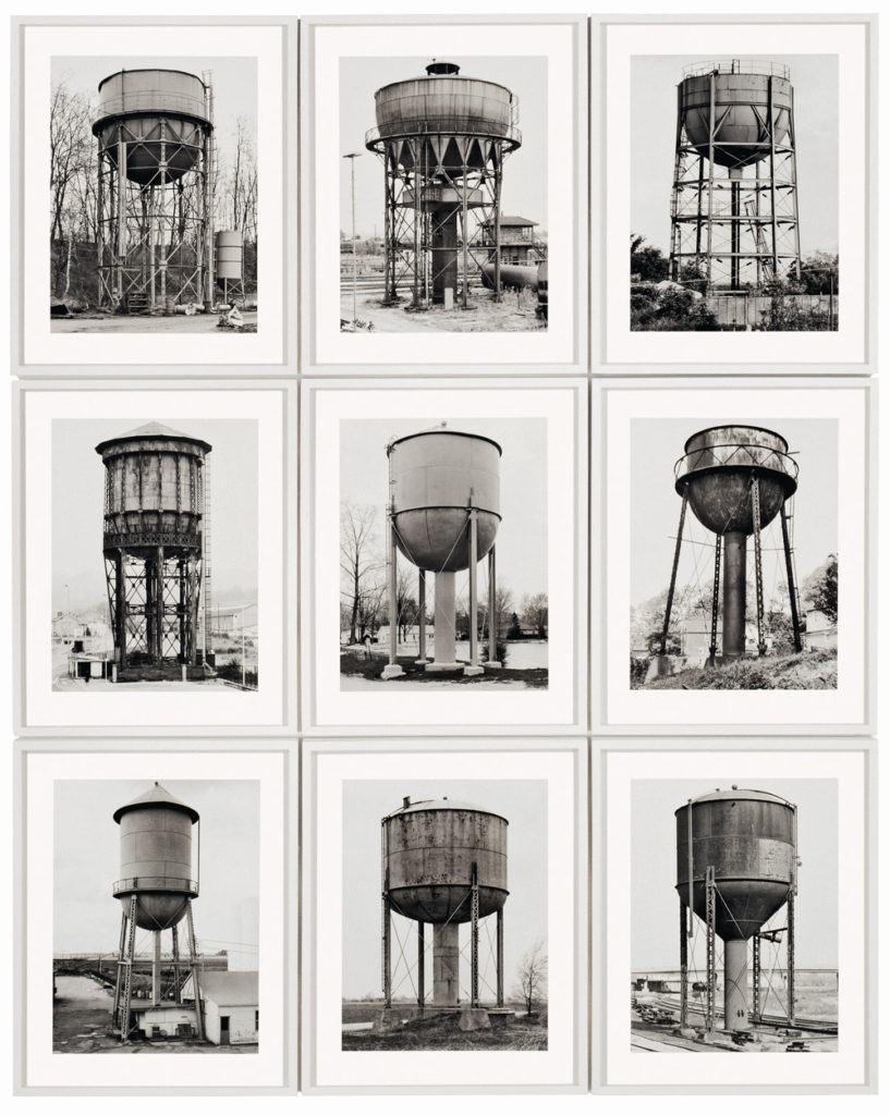 Bernard & Hilla Becher, Water towers