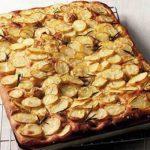 Lievito madre - focaccia con patate