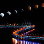 Eclissi di luna 2018: blu, rossa e super