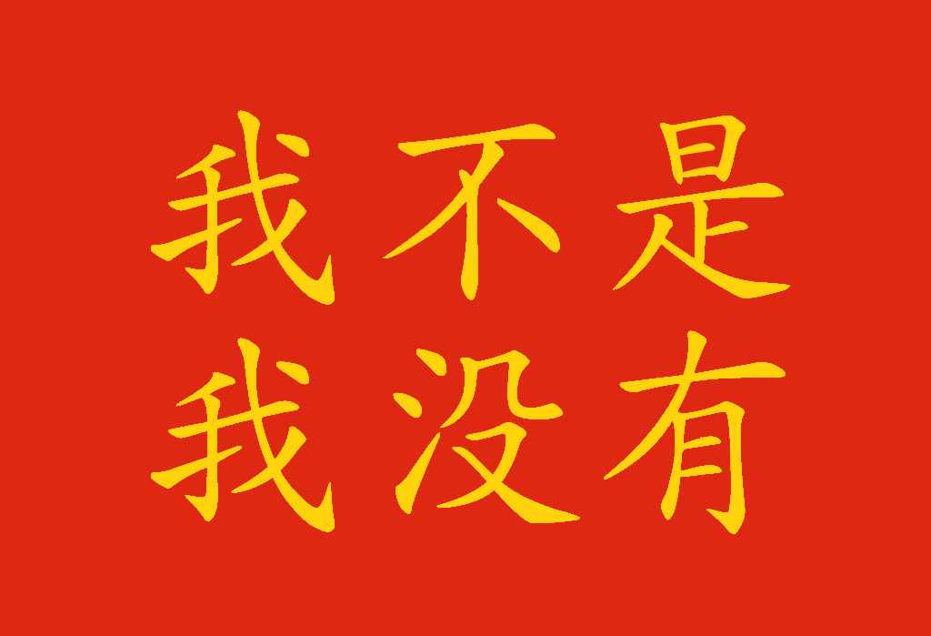 Frasi negative in cinese: non sono tutte uguali! - 不要