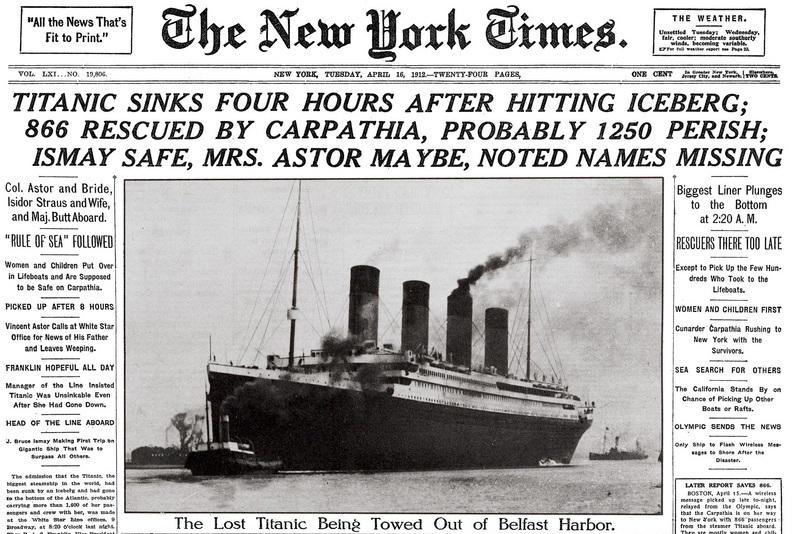 Photo news Titanic