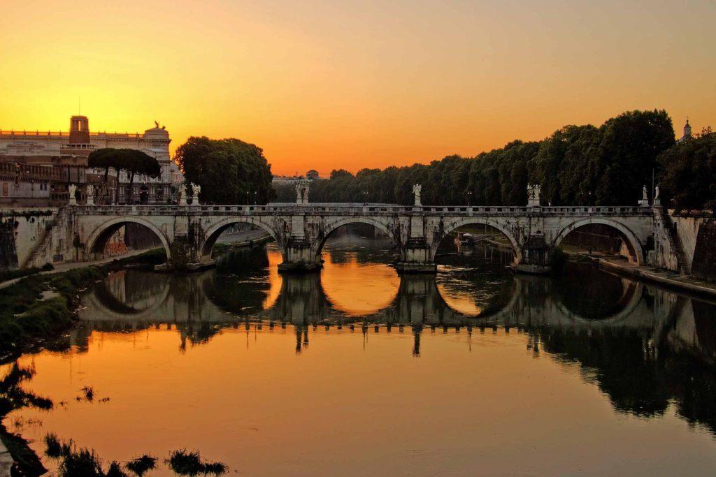 Ponte Sant'Angelo - ponti artificiali