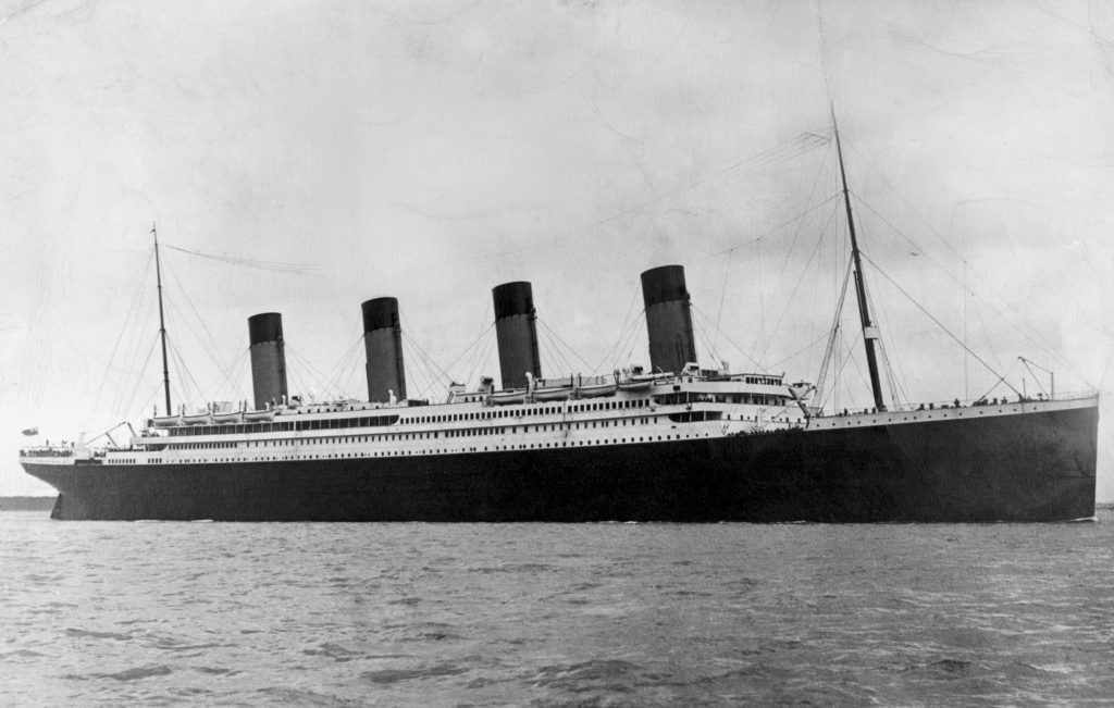 Titanic copertina