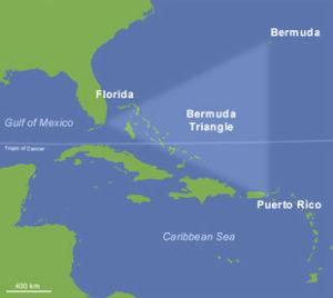 Mappa Triangolo Bermuda
