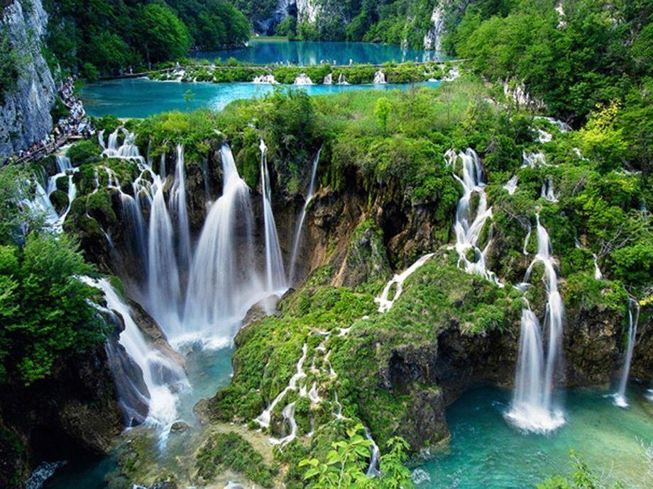 Parco nazionale dei laghi di Plitvice - cascate