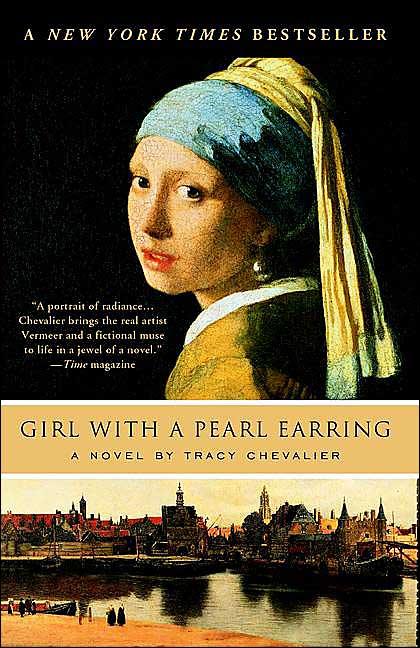 Vermeer La ragazza con l'orecchino di perla libro
