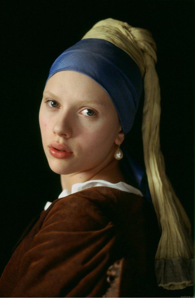 """ALT=""""Vermeer la ragazza con turbante"""""""
