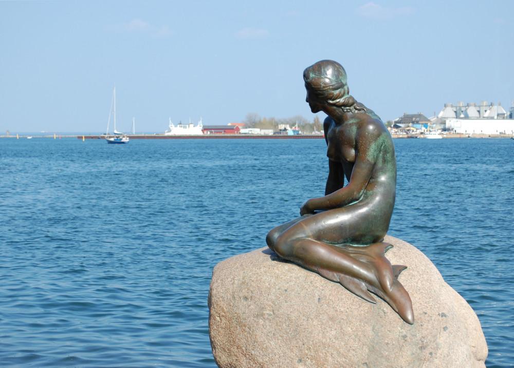 Copenaghen: la sirena di Edvard Eriksen - Sirene nell'arte