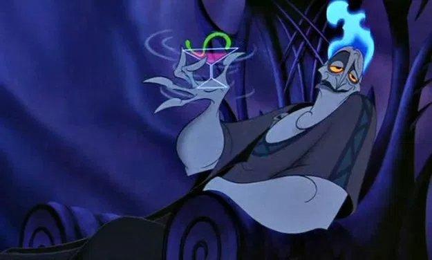 Il marito di Persefone, Ade, nel noto film di animazione della Disney Hercules