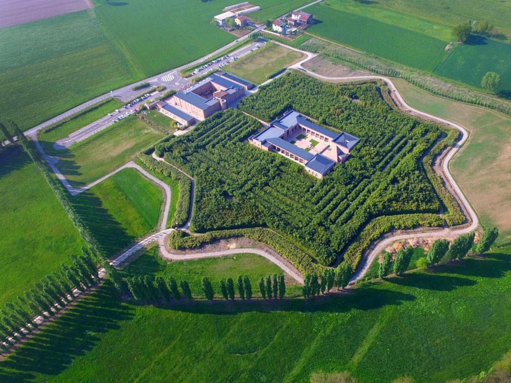 Vista Aerea del Labirinto della Masone, Fontanellato