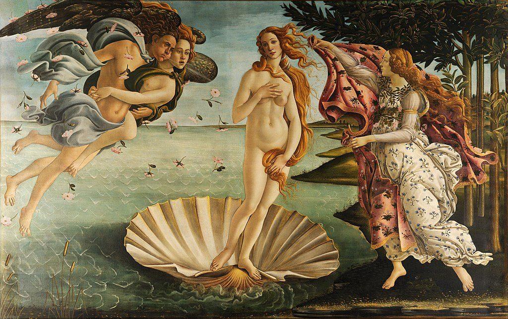 Nascita di Venere, Botticelli