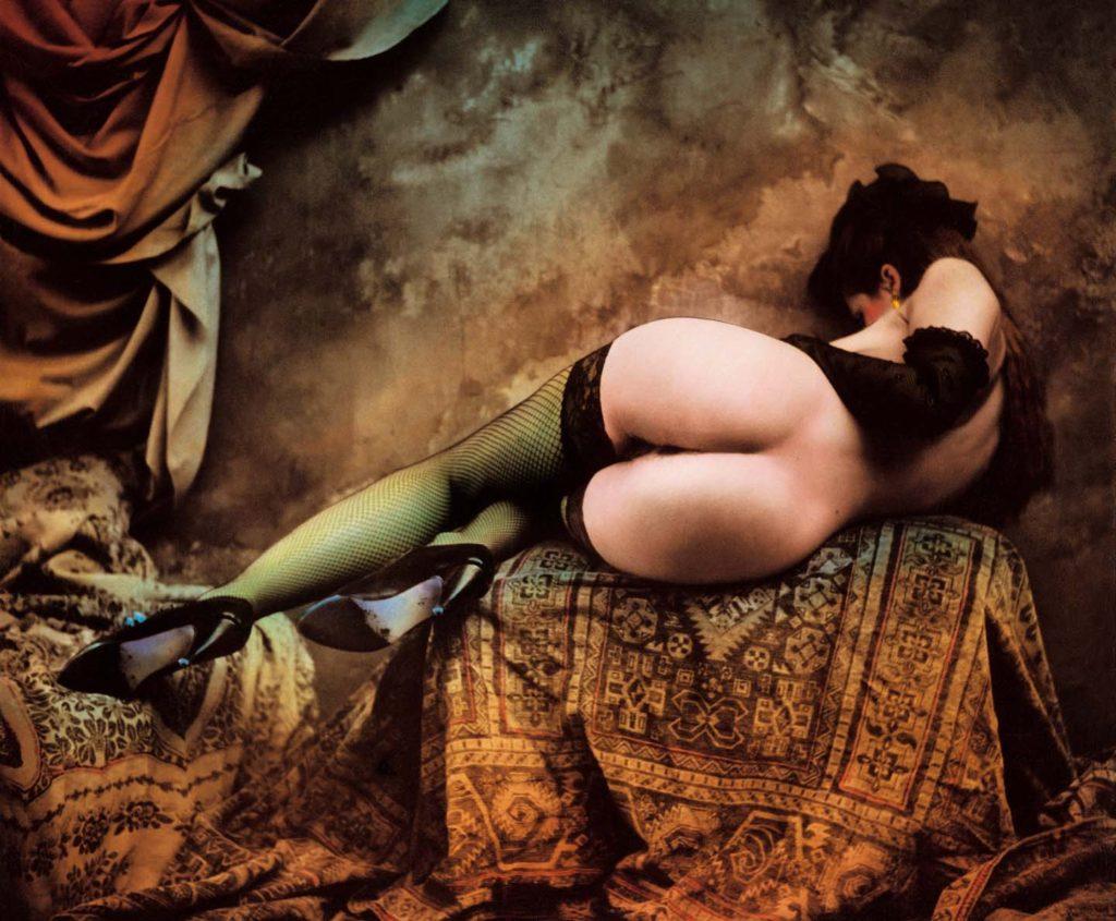 Jan Saudek, The Dancer, 2003. - icona