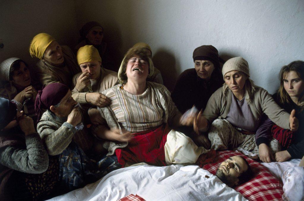 ©Georges Merillol, Kosovo, 1991. - icona