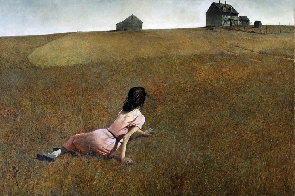 Andrew Wyeth, Christina's World, 1948. - icona