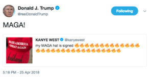 Kanye West - Donald Trump