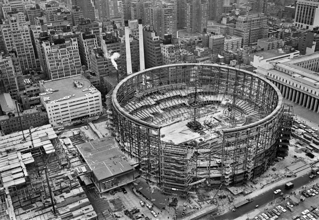 Madison Square Garden 1966 Manhattan