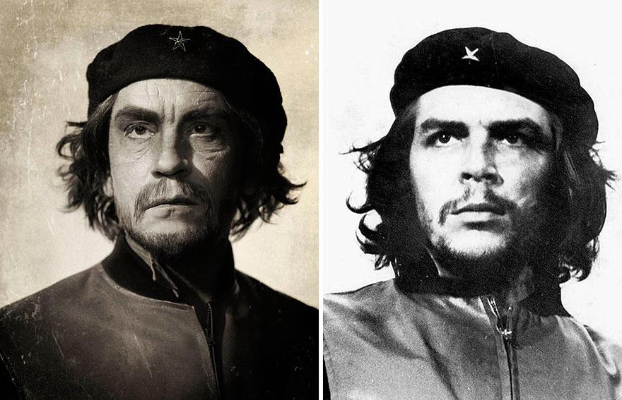 ©Sandro Miller, Alberto Korda - Che Guevara (1960), 2014. - icona