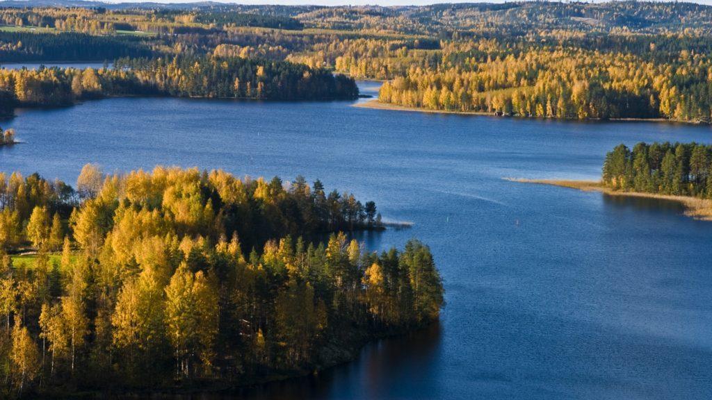 Finlandia - regione dei laghi