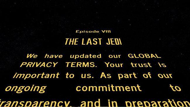 regolamento gdpr star wars