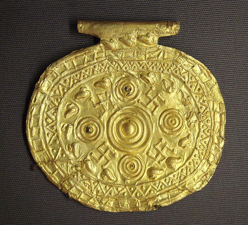simbolo del sole - Pendente etrusco