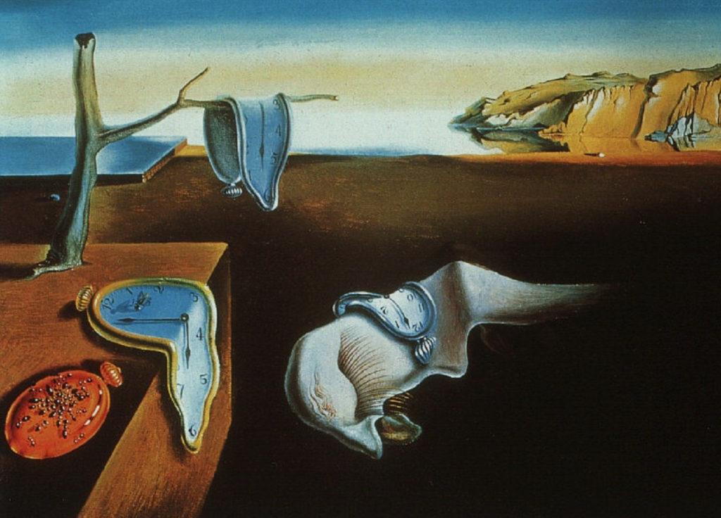 """surrealismo e Dalì - """"La persistenza della memoria"""""""