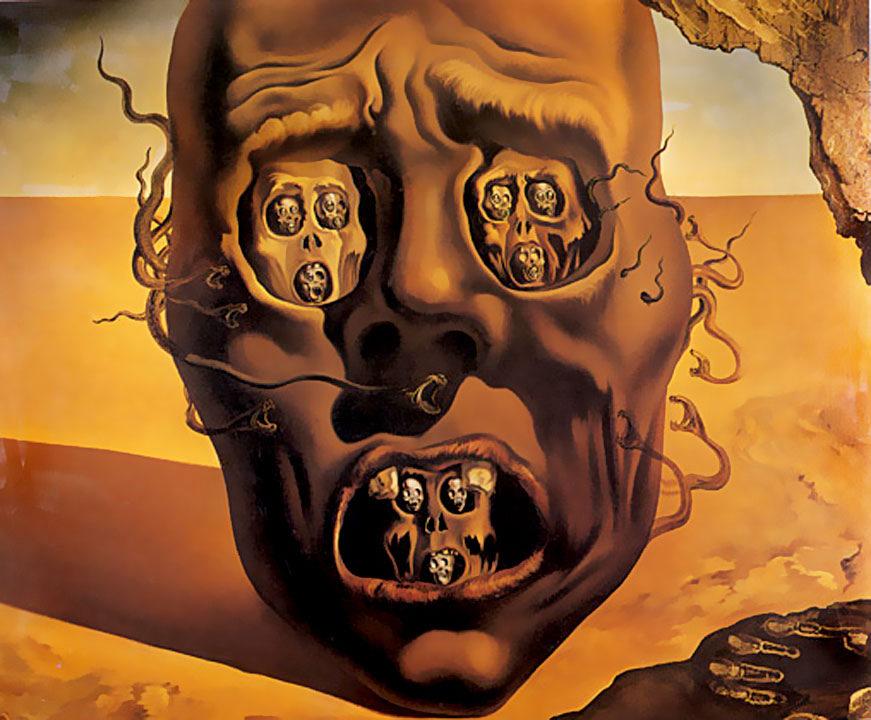 """surrealismo e Dalì - """"Il volto della guerra"""""""