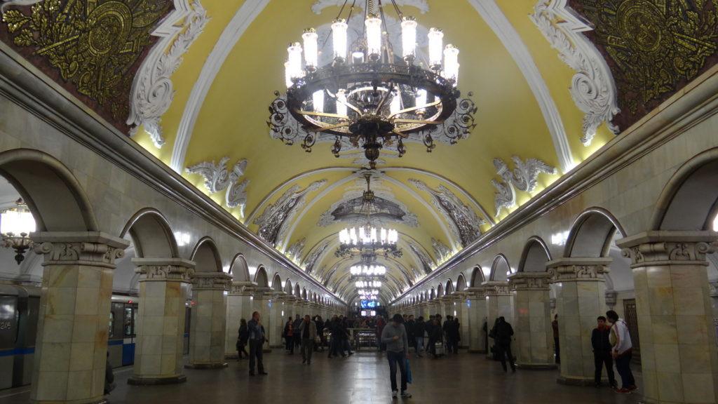 Mosca - stazione di Kievskaja