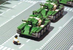 Luoghi Rivoluzione Tienanmen Lego