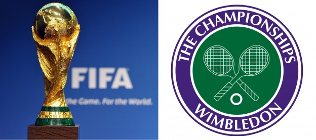 World Cup-Wimbledon