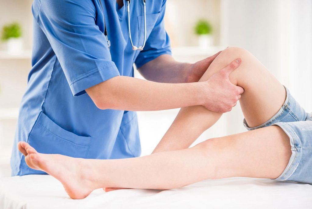 Seduta di fisioterapia