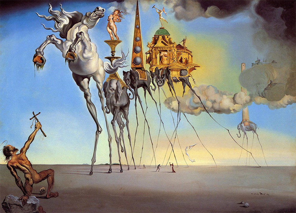 """surrealismo - """"La tentazione di S. Antonio"""""""