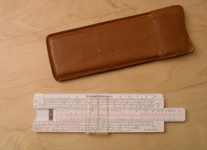 Calcolatrici elettroniche - Il mio regolo calcolatore