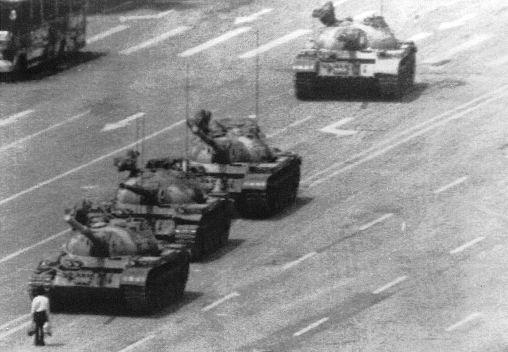 Tank Man - luoghi rivoluzionari