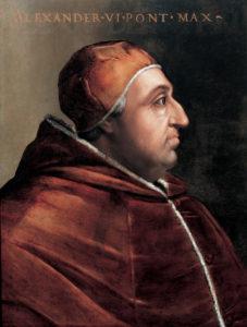 Rodrigo Borgia, padre di Lucrezia