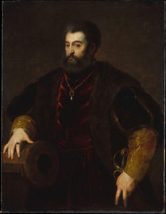 Alfonso d'Este terzo marito di Lucrezia Borgia