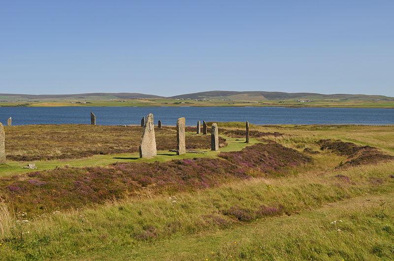 Il Circolo di Brodgar in Scozia