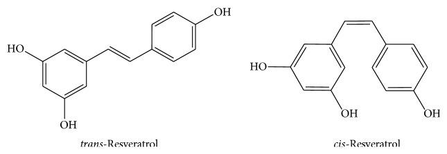 Resveratrolo - Isomeri trans e cis del resveratrolo di vino e uva - Oxidative Medicine and Cellular Longevity (2015)