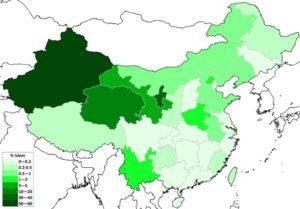 Gruppi etnici cinesi - Diffusione dell'Islam