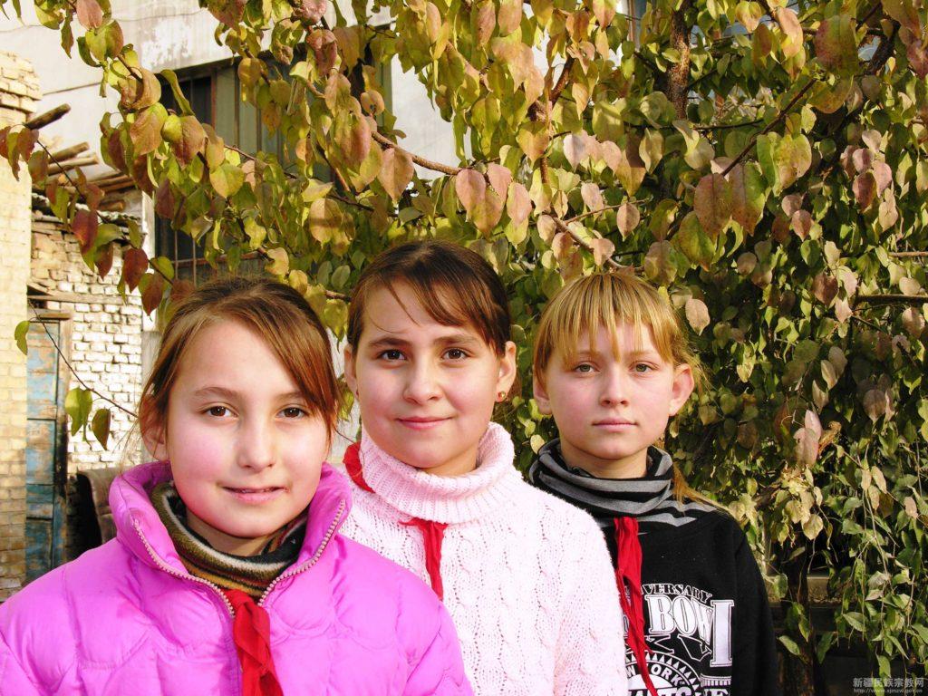 Gruppi etnici cinesi - Etnia russa - @ 新疆民族宗教网