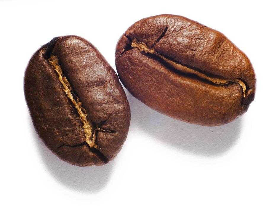 chicchi tostati di caffè