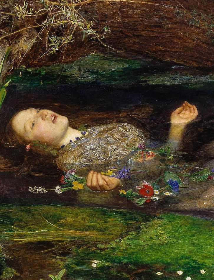 shakespeare - La morte di Ofelia - John Everett Millias