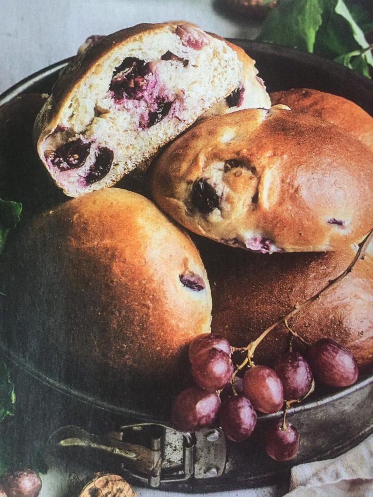 Panini all'uva - cucina autunnale