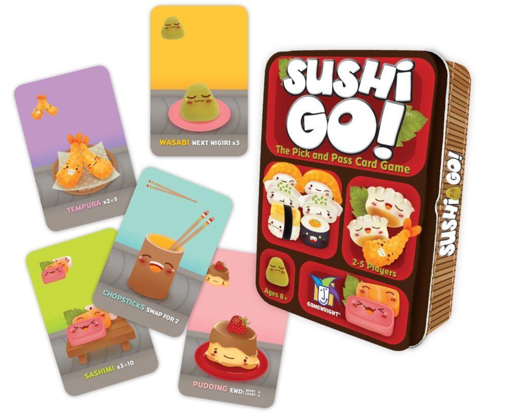 Giochi da viaggio: Sushi Go!